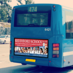 TFL Bus Marketing Campaign for Reddiford School