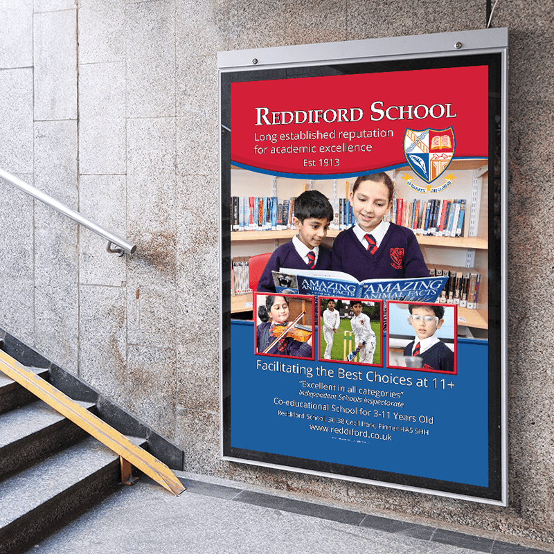 TFL Marketing Campaign for Reddiford School