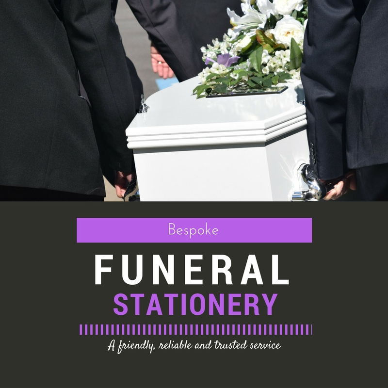 Stationery for Funerals