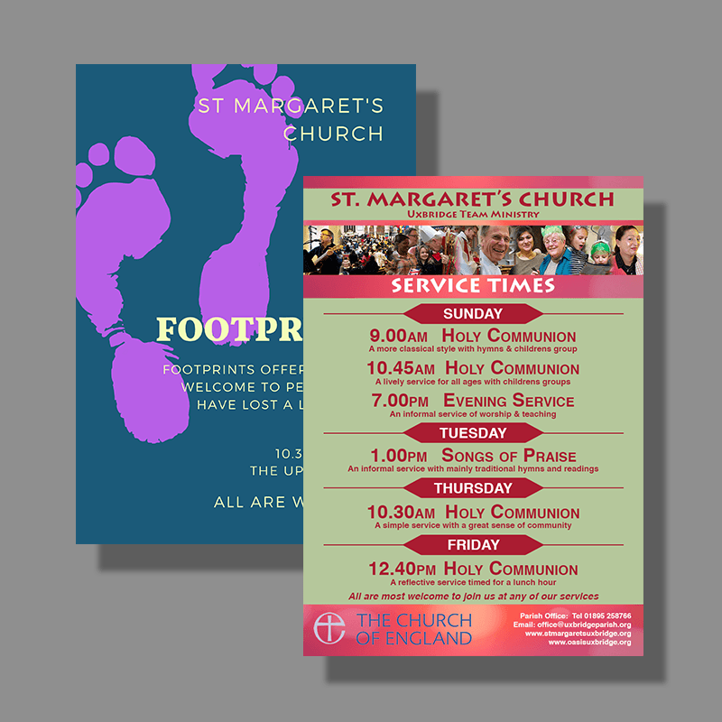 Church Activity Posters